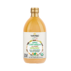 Varvello - 有機無過濾蜂蜜蘋果醋